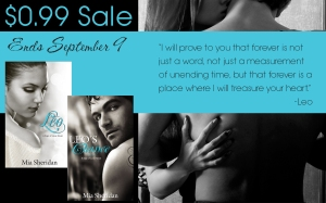 Leo and Leo's Chance on sale! .99¢ until September 9th!